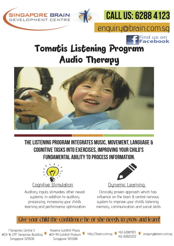 SBDC Tomatis Listening Therapy